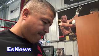 Download Holy S#!T It's A Knockdown!!! Robert Garcia Watching McGregor Malingaggi Sparring EsNews Boxing Video