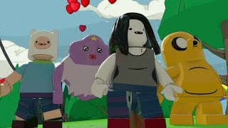 Download LEGO Dimensions - All 4 Adventure Time Characters + Free Roam Gameplay (Adventure Time World) Video