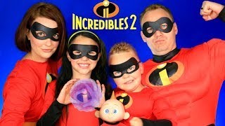 Download Disney Pixar Incredibles 2 Mr. Incredible, Elastigirl, Violet, Dash, Jack Jack Makeup and Costumes! Video
