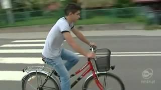 Download Złapali rowerzystę na fotoradar Video