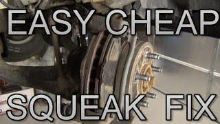 Download Fix Brake Squeak Cheap Video