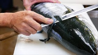 Download Japanese Food - YELLOWTAIL AMBERJACK Sashimi Braised Fish Kanazawa Seafood Japan Video