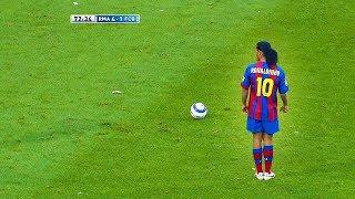 Download Dünyayı Şoke Eden Ronaldinho Golleri - Messiye Futbolu Öğreten Adam... Video