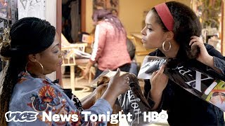 Download Hair Braiders In New Jersey Are At Constant Risk Of Losing Their Jobs (HBO) Video