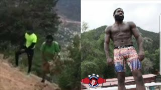 Download This is serious business! Broner in the mountains training like Rocky for Ivan Drago Video