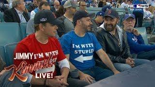 Download Jimmy Kimmel Sits with Stupid Matt Damon at World Series Video