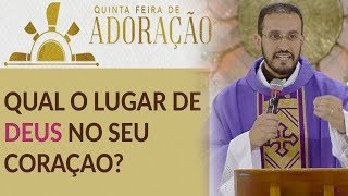 Download O que tem ocupado o lugar de Deus no teu coração? - Pe. Anderson Marçal (22/03/18) Video