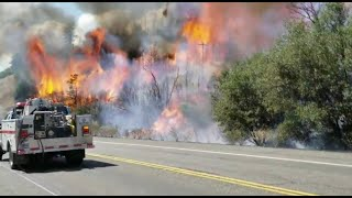 Download Carr Fire grows to more than 28,000 acres threatening west of Redding, CA Video