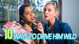 Download 10 Ways To Drive Him Wild (ft. Charlize Theron) Video