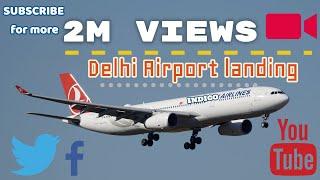 Download Delhi Airport landing Video