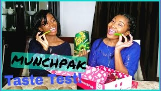Download TRYING FOREIGN SNACKS | MUNCHPAK UNBOXING & TASTE TEST! Video