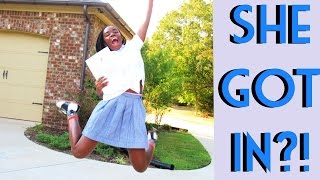 Download SHE GOT IN?! (College Decision Letter Reactions) Video
