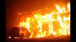 Download Residents flee 'catastrophic' wildfire in Northern California Video