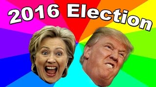 Download The best memes of the 2016 U.S. Presidential Election - Donald Trump And Hillary Clinton Video