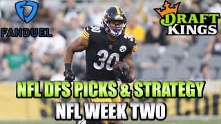 Download Week 2 NFL FanDuel & DraftKings Picks - Cash Game & GPP Lineup Strategy Video