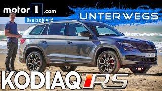 Download Sportlich! Ernsthaft? Skoda Kodiaq RS | UNTERWEGS mit Daniel Hohmeyer Video