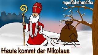 Download Nikolaus Lied - Heute kommt der Nikolaus - Weihnachtslieder deutsch | Kinderlieder deutsch Video