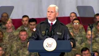 Download Vice President Mike Pence visit to Afghanistan Dec 21, 2017. Video