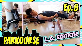 Download Parkourse in LA! (Ep.8) ft. D-trix & Jerel Video