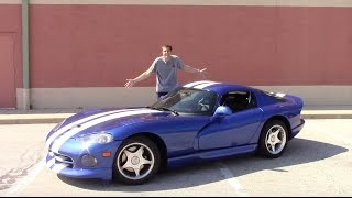 Download I Bought a Dodge Viper And Drove It 500 Miles Home Video