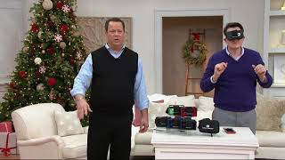 Download SmartTheater Virtual Reality Headset Goggles with Storage Case on QVC Video