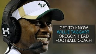 Download Get to know Willie Taggart, Oregon Ducks head football coach Video