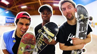 Download THE FINAL ROUND OF SKATE! | THE ULTIMATE BRAILLE TOURNAMENT Video