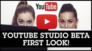 Download YouTube Studio Beta 1st Look + Tour of the New Creator Dashboard Video