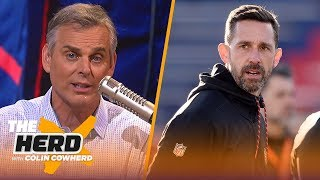Download Colin Cowherd compares Kyle Shanahan to Belichick, lists top QBs to lead franchise | NFL | THE HERD Video