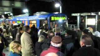 Download Jungfernfahrt der U8 auf dem Riedberg Video