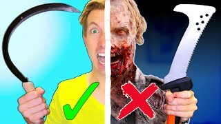 Download IF ZOMBIES ARE REAL, USE THESE... Video