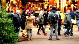 Download Nice Shopping in Hamburg of Germany Video