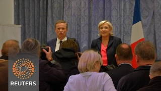 Download French presidential hopeful Le Pen names nationalist as prime minister Video