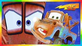 Download CARS 3 2 1 - ESPAÑOL - niños película - 3 de 6 - El Rayo McQueen & Tow Mate Mater Video