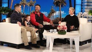 Download Ellen Surprises the Watson Family Video