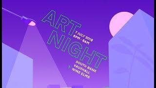 Download ART NIGHT 2018: VR in London Celebration of Art Video
