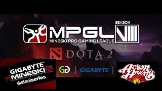 Download Mineski sports5 vs Acion arena MPGL8 GAME 1 Highlights Video