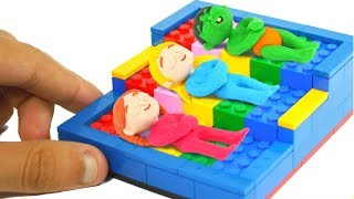 Download SUPERHERO BABIES BUILD BEDS WITH LEGO ❤ SUPERHERO BABIES PLAY DOH CARTOONS FOR KIDS Video