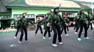Download SENAM MAUMERE Ibu-Ibu Persit Yonif Mekanis 521/DY Video