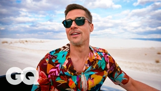 Download Brad Pitt's Epic Road Trip Through America's National Parks | GQ Style Video