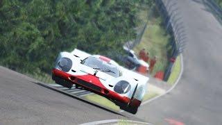 Download Lap around Nordschleife Porsche 917 K in Assetto Corsa Video