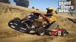 Download NEW RACING GO KART MOD! Dirt Track & Off-Roading! (GTA 5 PC Mods) Video