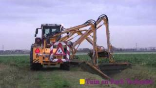 Download Mechaman sees Claas Xerion with Herder mowers Video