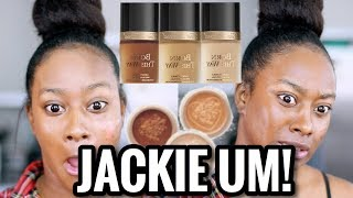 Download TOO FACED X JACKIE AINA BORN THIS WAY EXTENDED FOUNDATION REVIEW + CONCEALERS MORENITA FRIENDLY? Video