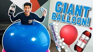Download GIANT BALLOON DIET COKE MENTOS EXPERIMENT! Video