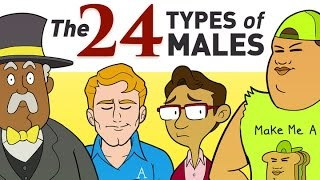 Download All 24 Types Of Males Explained Video