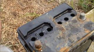 Download Car Battery Repair After Sitting 10 Years: How To (Basic Home Products !!!) Video
