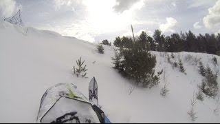 Download Polaris SKS 800 - Kealey braaapin the back country! Video