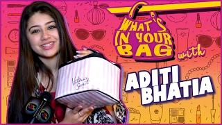 Download Aditi Bhatia aka Ruhi's Handbag SECRET REVEALED | What's In Your Bag Video