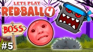Download Mom & Chase play RED BALL 4: THE FOREST BOSS FIGHT! (Part 5 FGTEEV Gameplay) Video